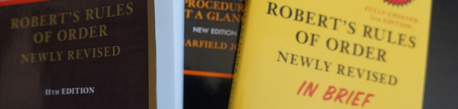 Authorized Editions of Roberts Rules