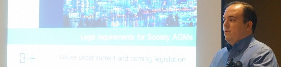 Michael Blatchford and the Society Act